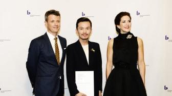 Stjernedrysprismodtager designer Mark Tan