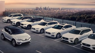 Volvo Cars Recharge collection