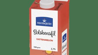 Norrmejerier Solskensfil Vattenmelon