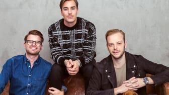 JLC består av Jonas Fagerström, Lucas Simonsson och Carl Déman.