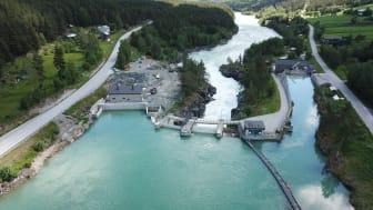 Nedre Otta kraftverk vant internasjonal tunnelpris. (Foto: Norconsult/ Hafslund Eco)
