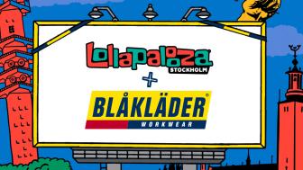 Lollapalooza Stockholm + Blåkläder = Sant