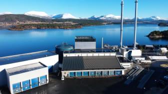 Energigjenvinningsanlegget på Grautneset i Ålesund.