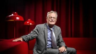 Björn Eriksson, ordförande Riksidrottsförbundet, deltar på Elmiadalen.