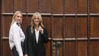 Emilia de Poret och Ebba Kleberg von Sydow