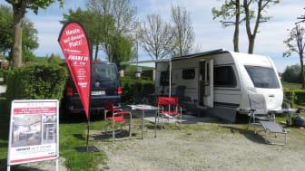 Der Bianco Activ 515 SGE war der Caravan der Road-Tour Frühjahr 2017