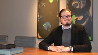 Johannes Schiölde, Head of Business Development på Jurek
