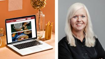 Till höger: Elisabeth Hernberger, HR Business Partner, Egmont eCommerce