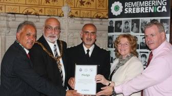 Rochdale borough remembers Srebrenica