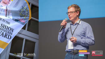 Pitch von Stephan Schambach, Gründer und CEO NewStore, zum Fashion Innovation Award (Copyright: Loomish SA)