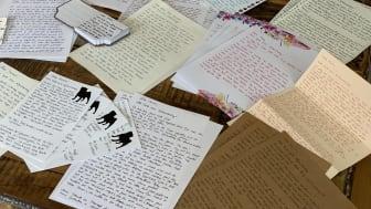 30 handgeschriebene Briefe aus der ausgezeichneten #frauchentag Kampagne von Fressnapf und TONY