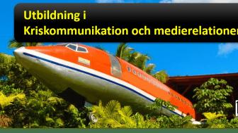 Utbildning i Kriskommunikation och medierelationer genom Uhrvis ger beredskap och kunskap