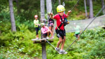 Trysil lanserer den første helårige Høyt & Lavt klatrepark