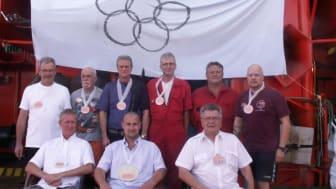"""De årlige olympiske lege på """"Esvagt Connector"""""""