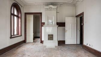 Detaljer i Villa Ateno innan renoveringen.