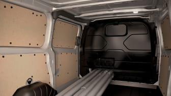 Ford Transit Custom, innvendig