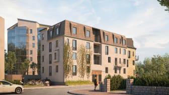 Riksbyggens populära Bonum-koncept för seniorbostäder till Västerås