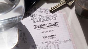 Eurojackpotmillionær fejrede gevinst med at grave have