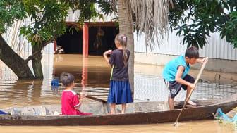 Barn drabbas hårt av klimatförändringarna redan idag