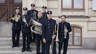 Blåsarsymfonikernas brassextett. Foto: Elinor Wermeling