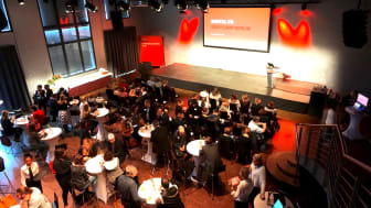 """Die Gäste der Digital PR Bootcamps warten gespannt auf den ersten Vortrag des Tages – dem Impulsvortrag von Dr. Georg Kolb zum Thema """"Der Kommunikator der Zukunft"""""""