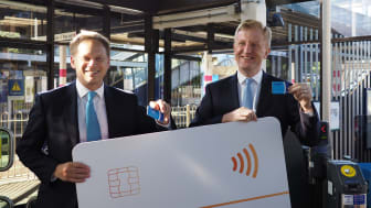 Pay as you go is welcomed at Radlett station - more photos available to download below.