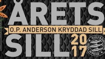Årets Sill 2017 med smak av O.P.Anderson akvavit