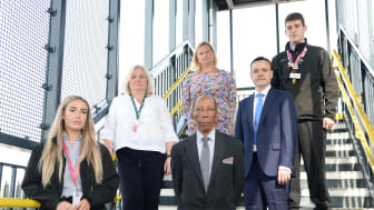 Railway colleagues join together to mark World Suicide Prevention Day
