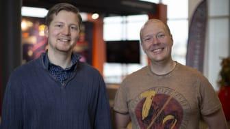 Studenterna Olof Almqvist och Henrik Mellgren har tagit fram ett beslutsstödsystem åt Skara sommarland.