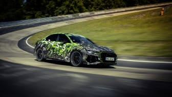 Audi RS 3 introduceres i Danmark med ny rekord på Nürburgring i bagagen