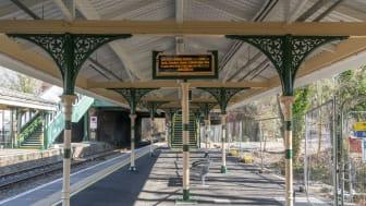 Southern's platform 1, heritage-style revamp Eridge station