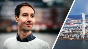 Alexander Wachtmeister da Silva, medgrundare och partneransvarig på Telavox, är stolt malmöbo och finalist.