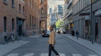 Maxamed Abdiraxman, digital processledare och kontorschef på Zynka Group i Stockholm. Bild: Zynka Group