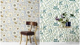 Svenskt Tenn adds Josef Frank flowers to wallpaper range