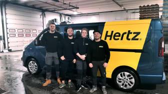 Teamet fra Hertz Svolvær