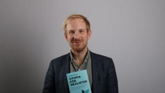 """Rutger Bregman och hans bok """"Utopia för realister"""""""