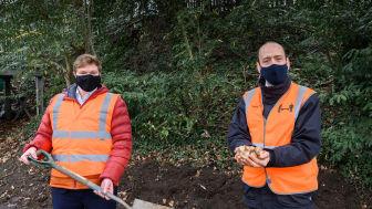 GTR-Groundwork partnership planting programme begins