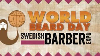 World Beard Day firas i Stockholm med en stor skäggfest!