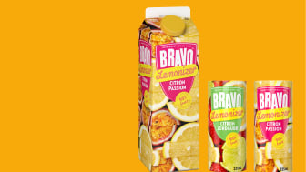 Bravo Lemonizer i ny smak och nytt format.