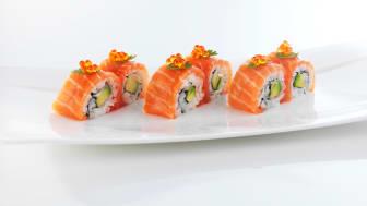 Sushikokker ønsker silderogn som sushipynt.