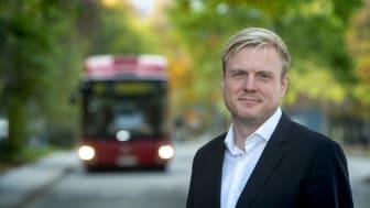 Påstigning bak är framtiden för buss fyra
