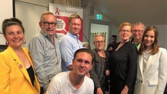 Partidebatt i Landstingshuset, Stockholm 2018-08-30