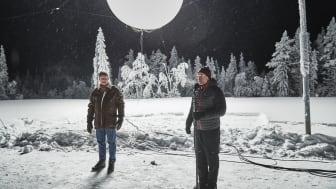 Mårten Lilja, vice vd Riksbyggen och Karl-Erik Taivalsaari, Gällivare kommun