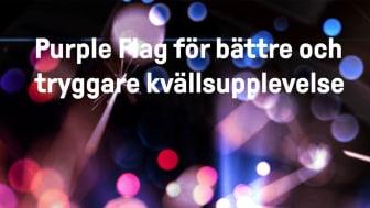 Östersunds stadskärna ska bli tryggare på kvällar och nätter med Purple Flag-certifiering