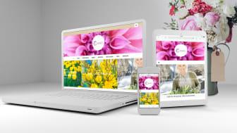 Blomsterfrämjandet och EGO reklambyrå har tagit fram en webbplats där inspiration kring växter står i centrum.