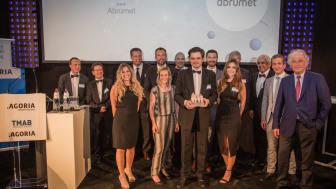 Communiqué de presse : Le projet BruSafe+ d'Abrumet grand lauréat des Agoria eHealth Awards 2017