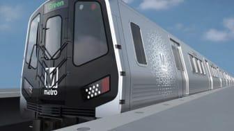 Hitachi Rail creerà nuovi posti di lavoro qualificati in USA per l'assemblaggio delle carrozze serie 8000 per Metro. La consegna delle prime carrozze di pre-serie è prevista nel 2024.