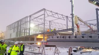 Joulupukin oman lentoaseman laajennus Rovaniemellä valmistuu talvisesongiksi