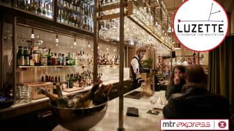 MTR Express Lounge hos Luzette.
