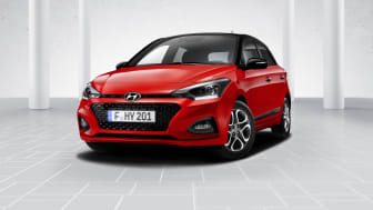 Nye Hyundai i20.